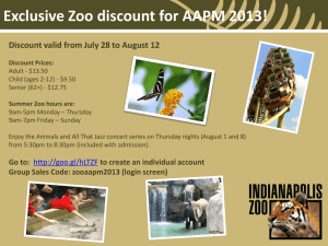 Exclusive Zoo discount for AAPM 2013!