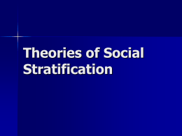 social stratification is it universal Social stratification is the root cause which results in inequalities the criteria for social stratification are income , privileges, ethnicity, disability in other words it results from the social structure and it affects everyonestratification is universal, but extremely variable in formstratification persists.