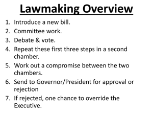 Lawmaking Overview