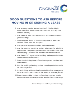 GOOD QUESTIONS TO ASK BEFORE MOVING IN OR SIGNING A LEASE