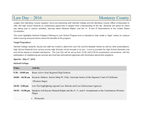 Law Day – 2016  Monterey County