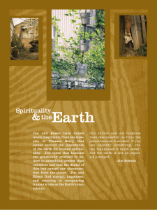 Earth & the Spirituality
