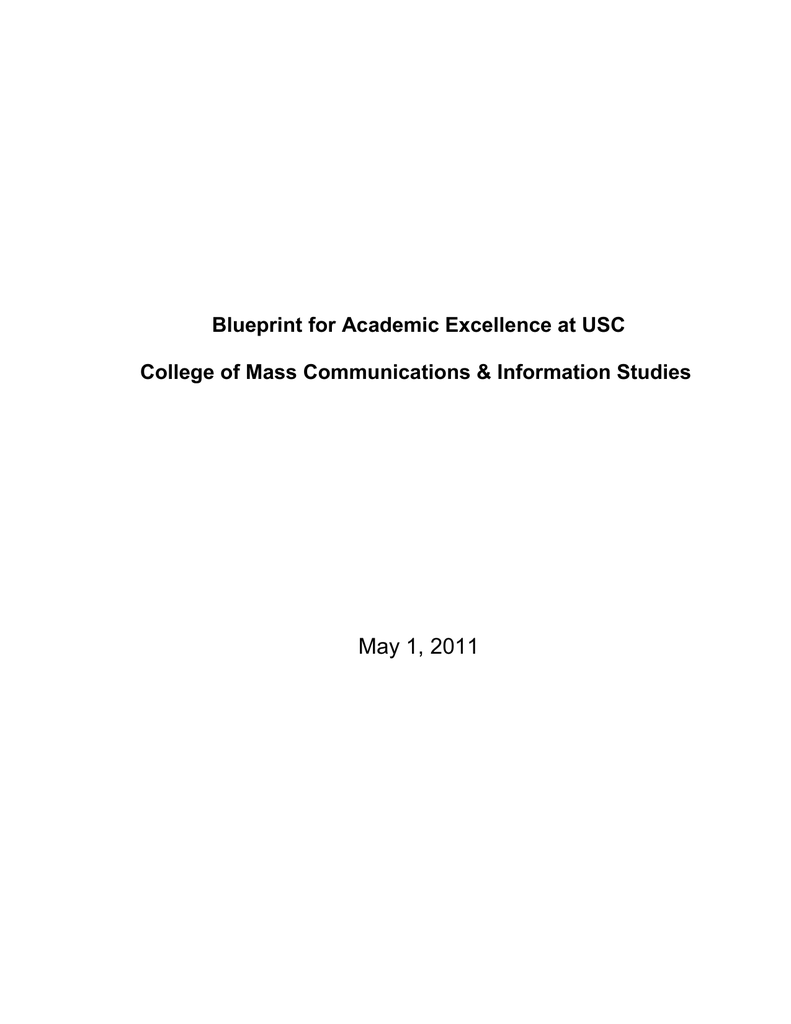 May 1 2011 blueprint for academic excellence at usc malvernweather Choice Image