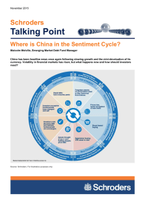 Talking Point Schroders Where is China in the Sentiment Cycle?