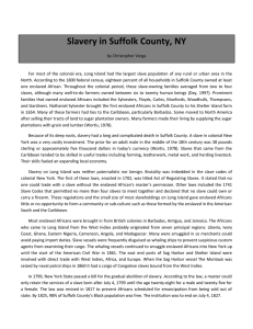 Slavery in Suffolk County, NY