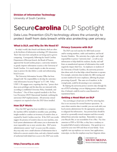 Secure DLP Spotlight Carolina