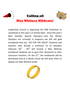 Calling all May Whitney Wildcats!