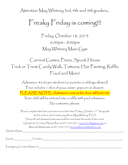 Freaky Friday is coming!!!