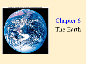 Chapter 6 The Earth