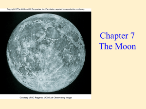 Chapter 7 The Moon