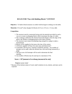 "RULES FOR ""Fun with Building Blocks"" CONTEST"