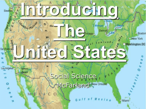Introducing The United States Social Science
