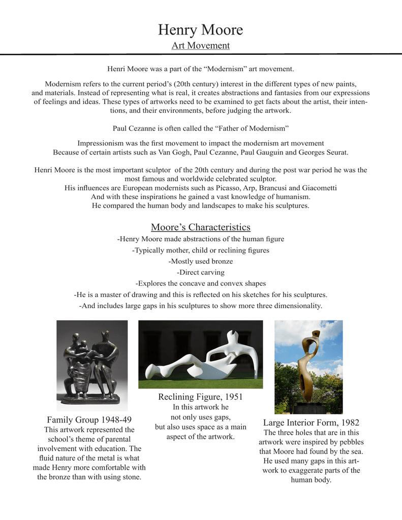 Henry Moore Art Movement