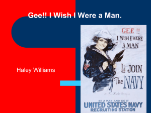 Gee!! I Wish I Were a Man. Haley Williams