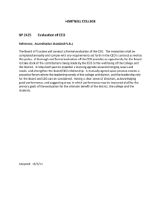 HARTNELL COLLEGE    BP 2435  Evaluation of CEO