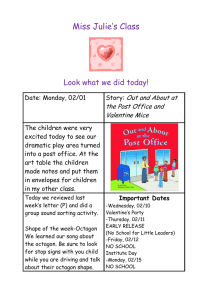 Miss Julie's Class  Look what we did today! Out and About at