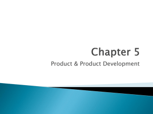 Product & Product Development