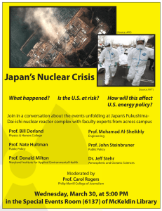 Japan's Nuclear Crisis What happened? Is the U.S. at risk?