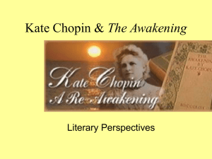 The Awakening Literary Perspectives