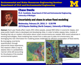 Environmental and Water Resources Engineering Seminar