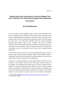 Global Value Chain Governance in the Era of Mega FTAs