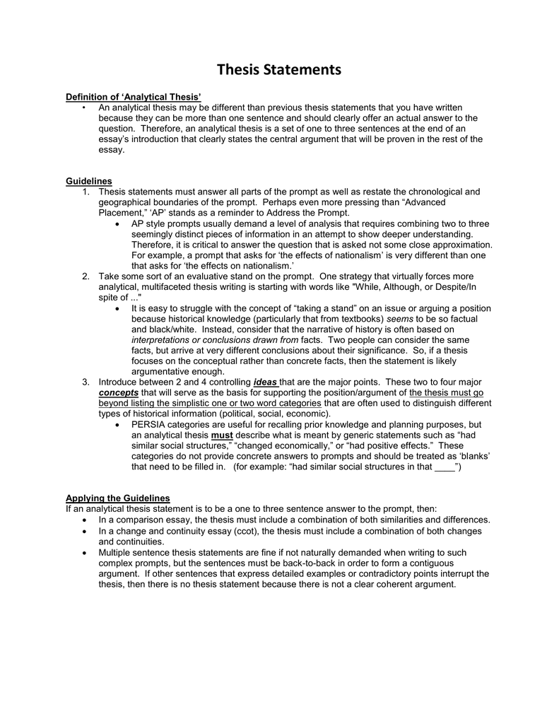 examples of an example essay