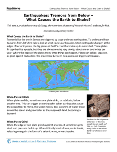 Earthquakes: Tremors from Below – What Causes the Earth to Shake?