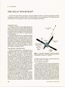 THE  HILAT  SPACECRAFT