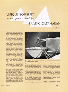 UNIQUE  BOWSPRIT assures  greater