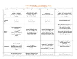 Formative assessment for writing   Teacher s Notebook Blog literary essay rubric template
