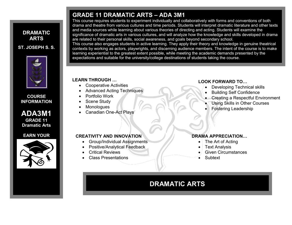 dramatic techniques in drama