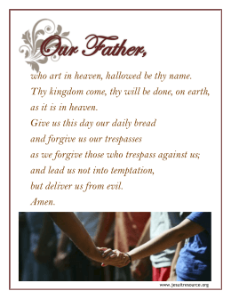 Our Father,