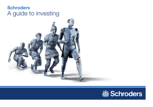 A guide to investing Schroders