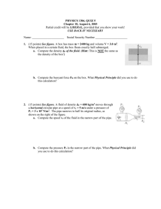 PHYSICS 1306, QUIZ 5 Chapter 10, August 6, 2003 1. LIBERAL,