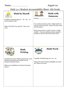 Name: August 24 Daily 3+1 Student Accountability Sheet- 6th Grade