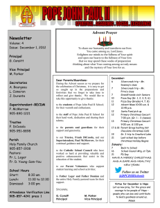 Newsletter Volume: 4 Issue:  December 1, 2012