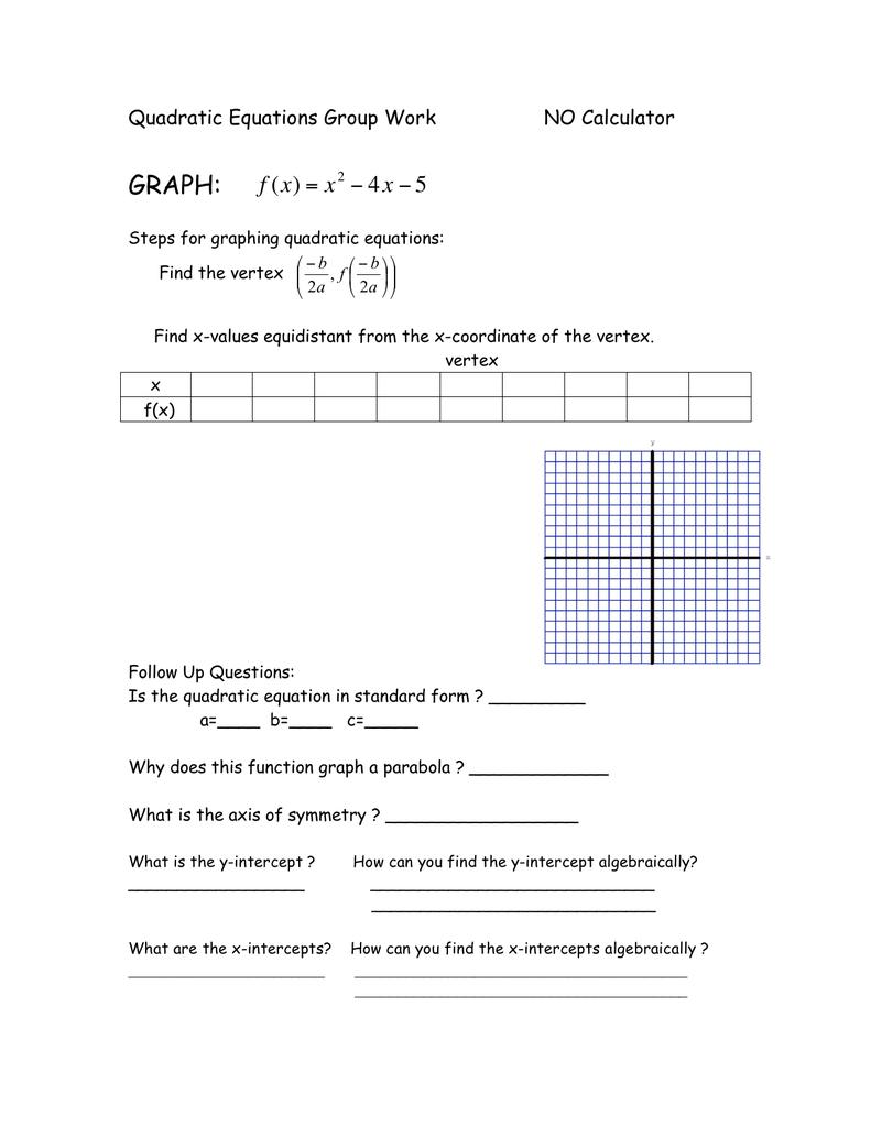 intercept form quadratic calculator  GRAPH: x !