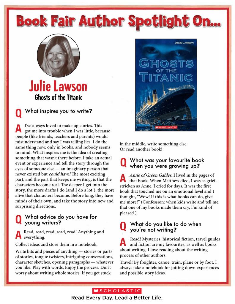 Julie Lawson Q A