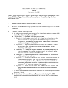 EDUCATIONAL MASTER PLAN COMMITTEE  Minutes  September 28, 2010