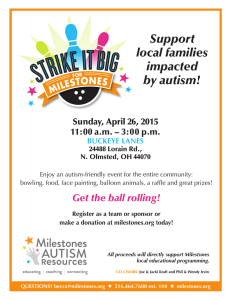 Support local families impacted by autism!