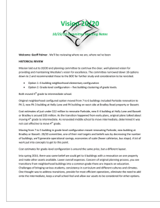 Vision 20/20 10/23/14 Committee Meeting Notes
