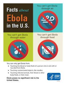 Ebola Facts in the U.S. about