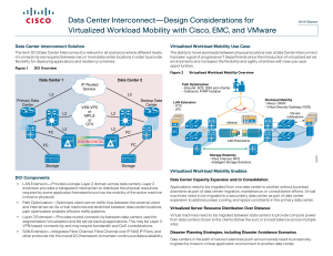 Data Center Interconnect—Design Considerations for