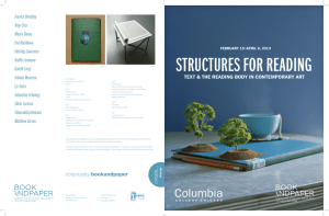 STRUCTURES FOR READING