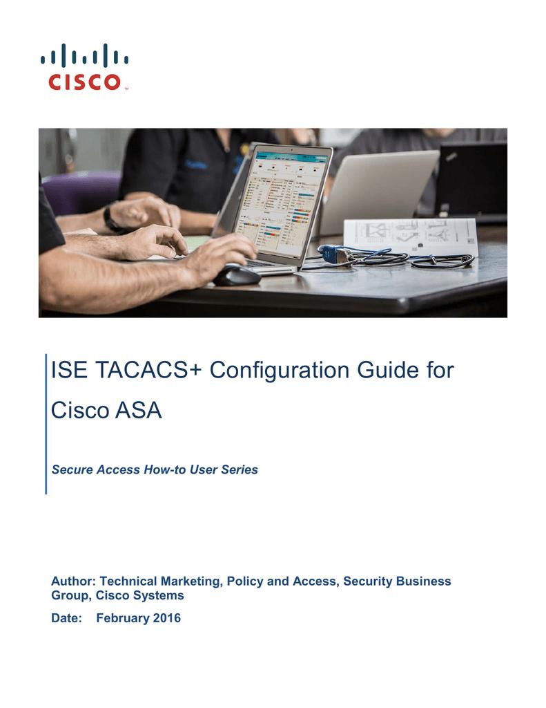 Cisco Asa Tacacs Ise