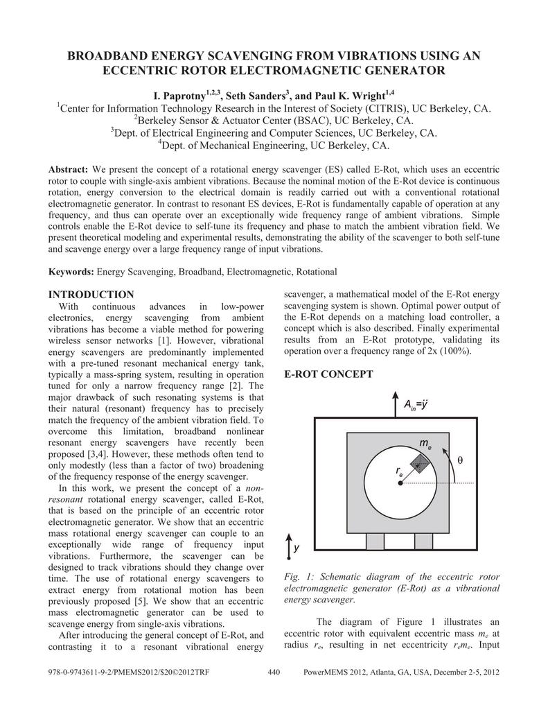 Broadband Energy Scavenging From Vibrations Using Electromagnetic Circuit Diagram 014392894 1 E8cc37a80047cda2b3e326397f502e7c