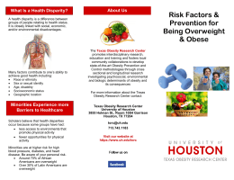 Risk Factors & Prevention for What Is a Health Disparity?