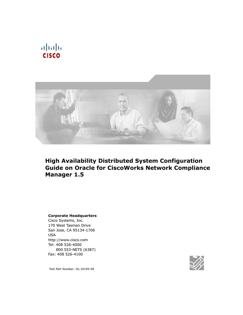 high availability distributed system configuration manager 1 5 rh studylib net