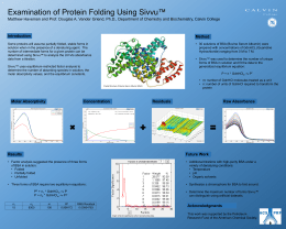 ™ Examination of Protein Folding Using Sivvu