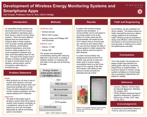 Development of Wireless Energy Monitoring Systems and Smartphone Apps Introduction Methods